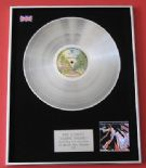 ROD STEWART - Atlantic Crossing PLATINUM LP Presentation Disc